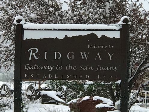 Ridgwaysign