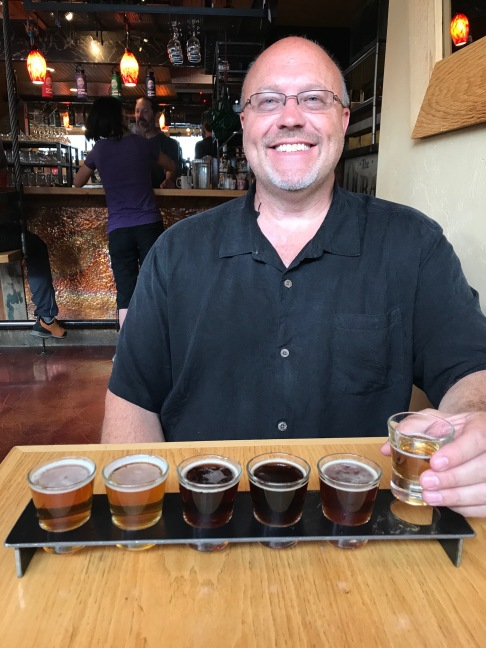 Scott at Ouray Brewery