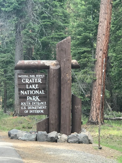 CraterLakeSign