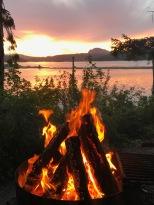 campfiresunset