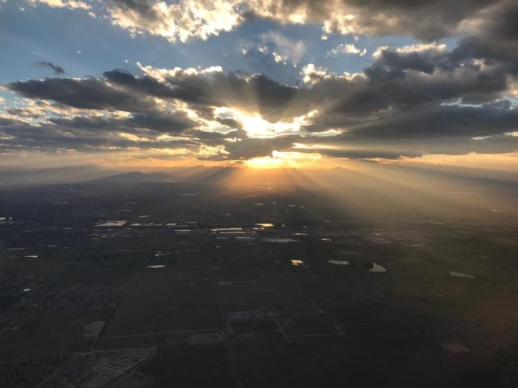 DenverAirportSunset